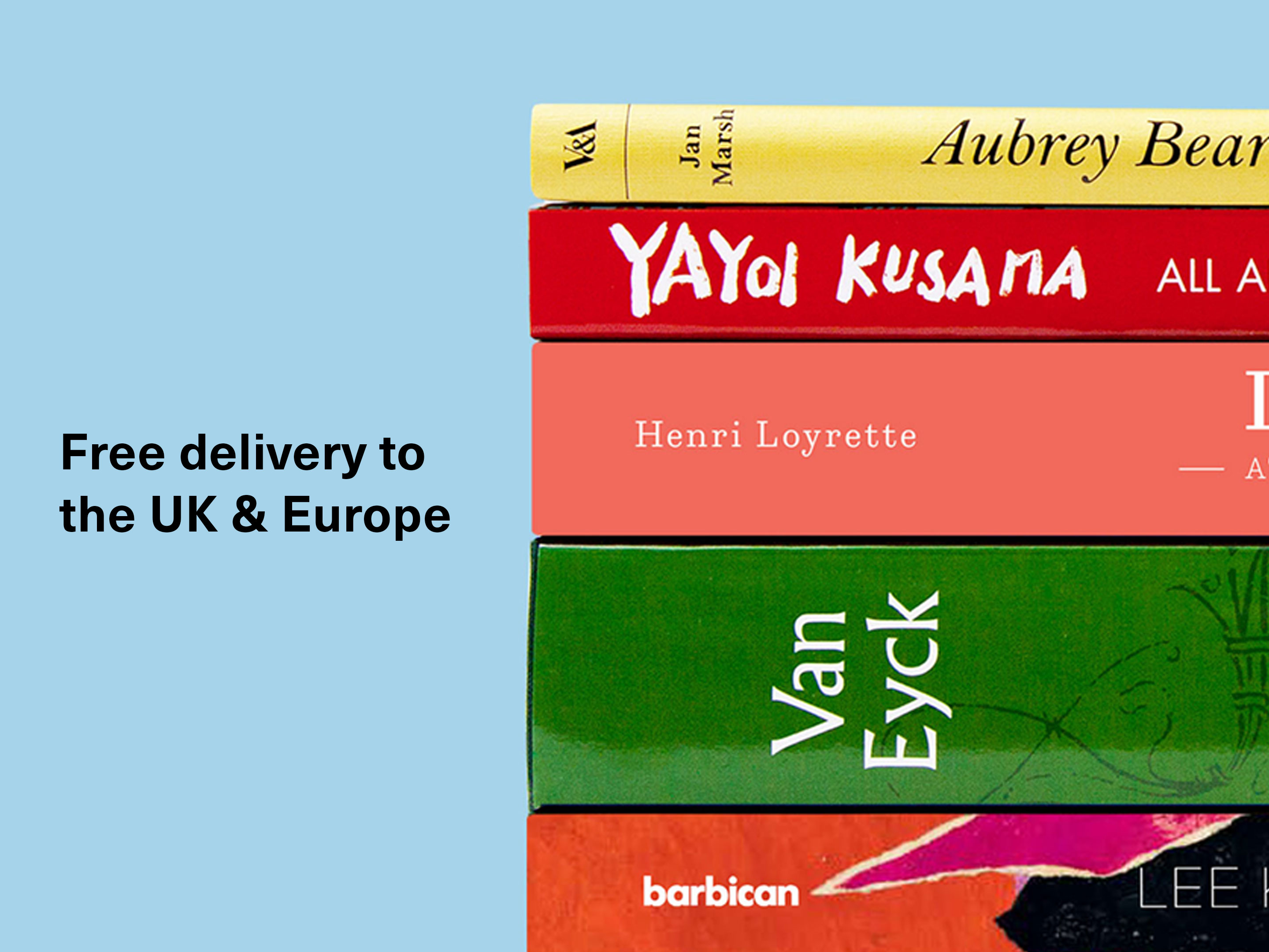 Receive your books to your door at no extra cost