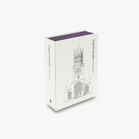 English Steeples: 16 Notecards