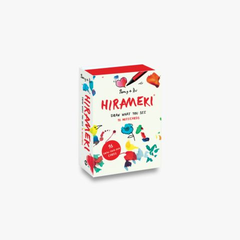 Hirameki: 16 Notecards