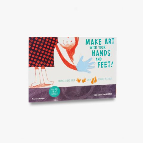 Make art with your hands and feet!