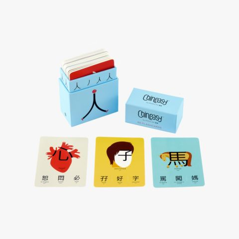 Chineasy™ 60 Flashcards