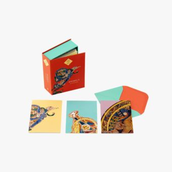 The Book of Kells - Animals: Box of 16 Notecards