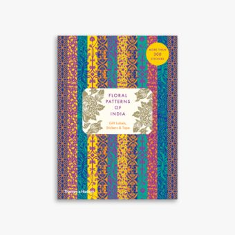 Floral Patterns of India: Sticker & Tape Book