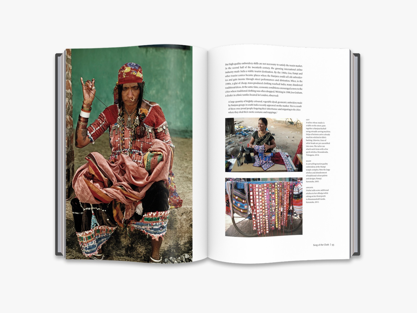 Traditional Embroideries Of India Book