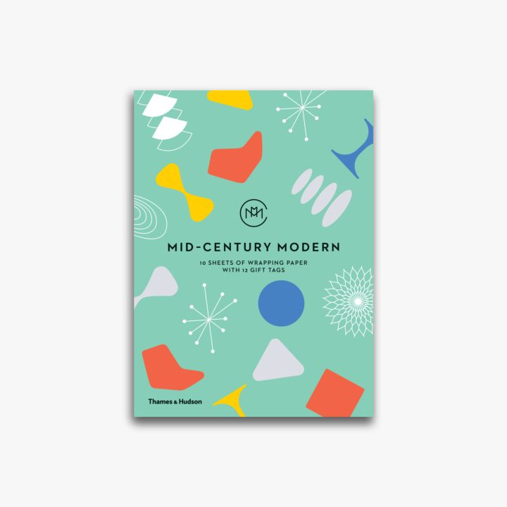 Mid century modern giftwrapping paper book - Mid century modern gifts ...
