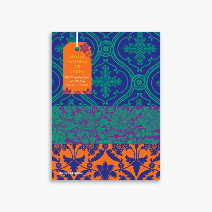 Wrapping Paper Book Cover Instructions ~ Floral patterns of india giftwrapping paper book
