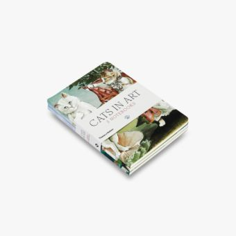 Cats in Art: Set of 3 A6 Notebooks